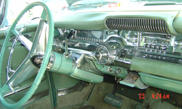 1958 BUICK 4 DOOR HARDTOP - Interior - 21678