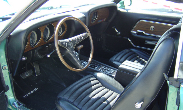 1969 SHELBY GT500 FASTBACK - Interior - 21687