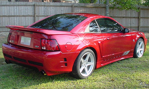 1999 FORD SALEEN MUSTANG COUPE - Rear 3/4 - 21689