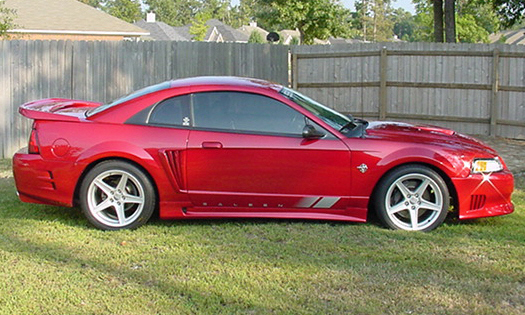 1999 FORD SALEEN MUSTANG COUPE - Side Profile - 21689