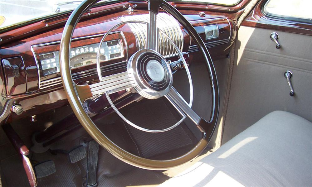 1939 BUICK 46 S SPORT COUPE - Interior - 21690
