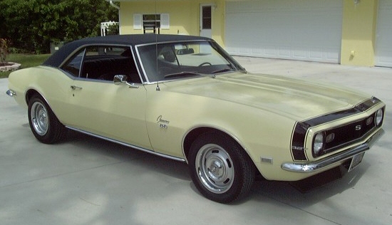1968 CHEVROLET CAMARO COUPE - Front 3/4 - 21702