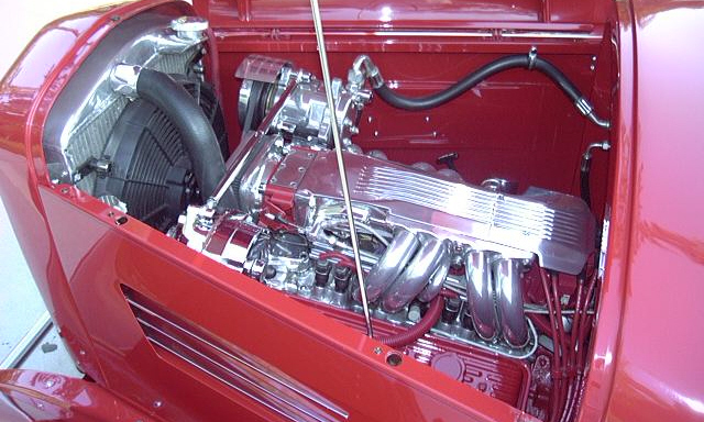 1932 FORD VICTORIA CUSTOM COUPE - Engine - 21706
