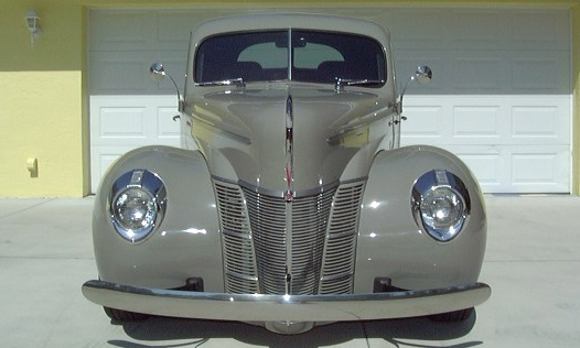 1940 FORD CUSTOM COUPE - Engine - 21707