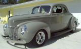 1940 FORD CUSTOM COUPE -  - 21707