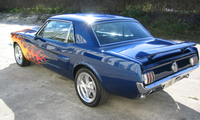 1966 Ford Mustang Coupe Mod Rod Custom 21725