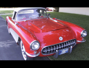 1957 CHEVROLET CORVETTE CONVERTIBLE -  - 21771