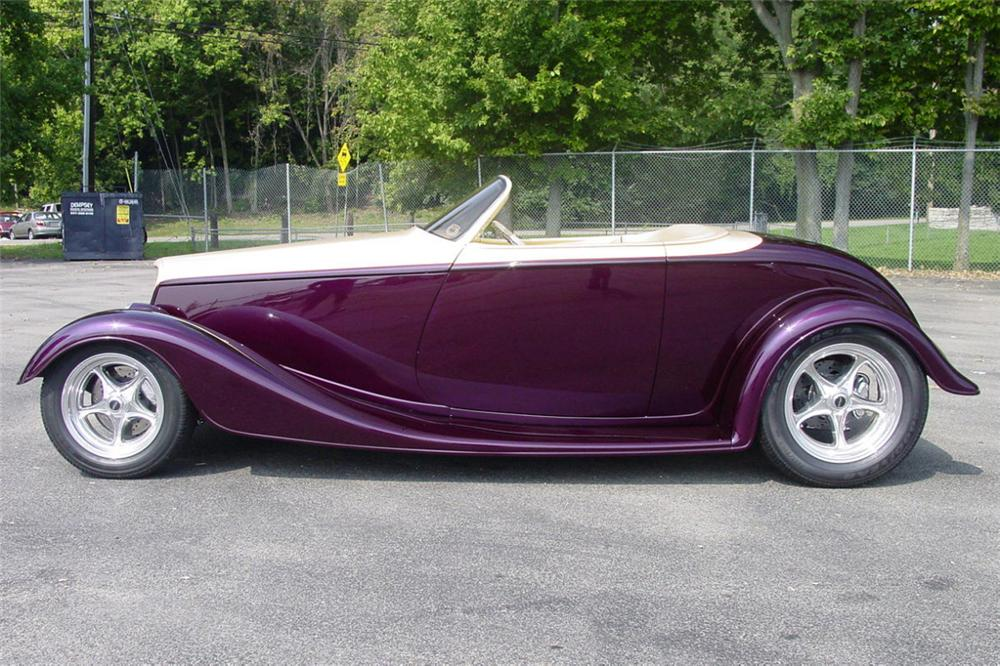1933 FORD BOYDSTER III - Side Profile - 21776