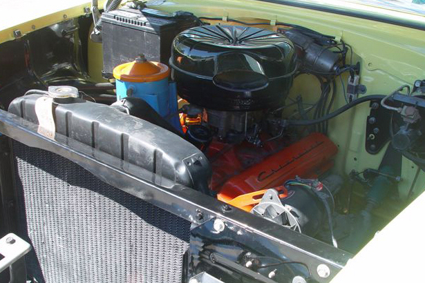 1955 CHEVROLET BEL AIR 2 DOOR HARDTOP - Engine - 21779