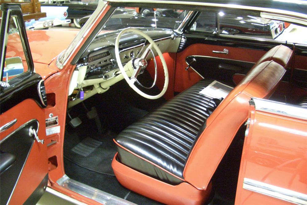 1954 MERCURY MONTEREY 2 DOOR HARDTOP - Interior - 21782