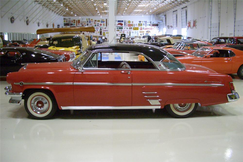 1954 MERCURY MONTEREY 2 DOOR HARDTOP - Side Profile - 21782