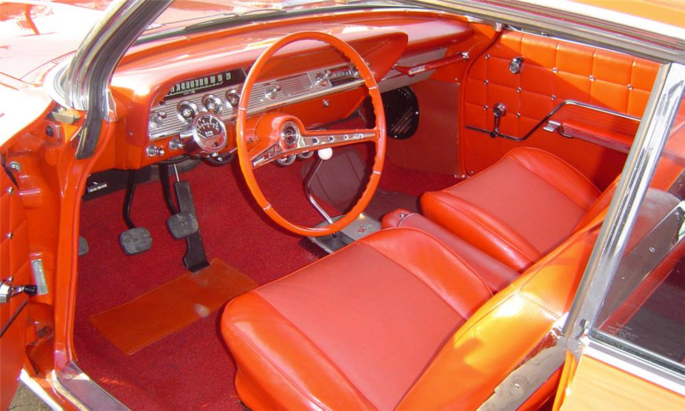 1962 CHEVROLET IMPALA SS COUPE - Interior - 21787