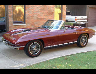1967 CHEVROLET CORVETTE 427/400 CONVERTIBLE -  - 21788