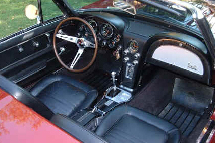 1967 CHEVROLET CORVETTE 427/400 CONVERTIBLE - Interior - 21788