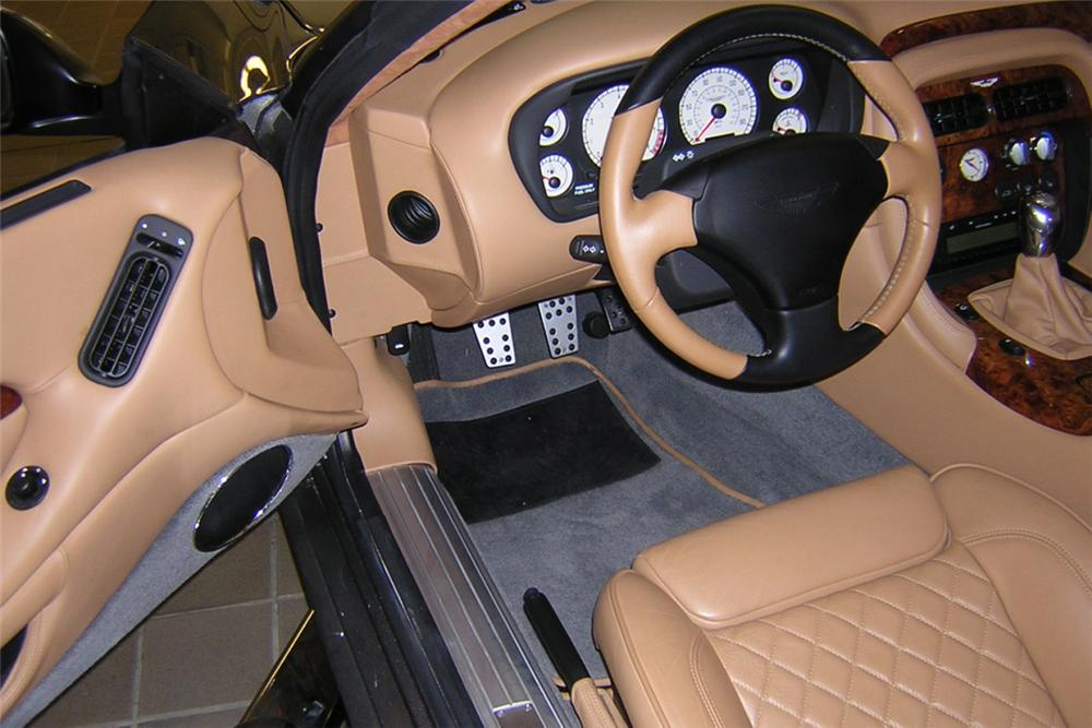 2003 ASTON MARTIN AR1 ROADSTER - Interior - 21790