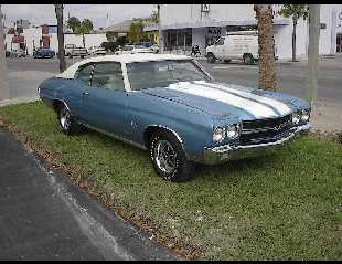 1970 CHEVROLET CHEVELLE SS LS6 -  - 21890