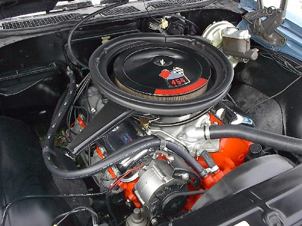 1970 CHEVROLET CHEVELLE SS LS6 - Engine - 21890