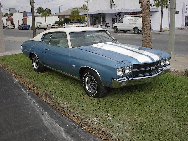 1970 CHEVROLET CHEVELLE SS LS6 - Front 3/4 - 21890