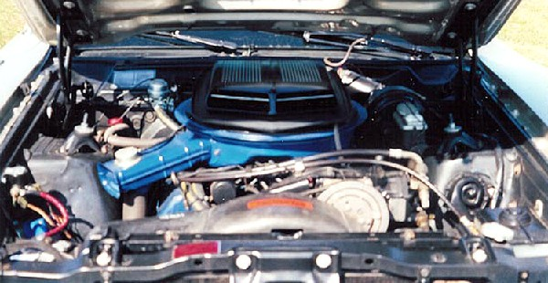 1971 FORD TORINO COBRA FASTBACK - Engine - 21906