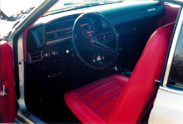 1971 FORD TORINO COBRA FASTBACK - Interior - 21906