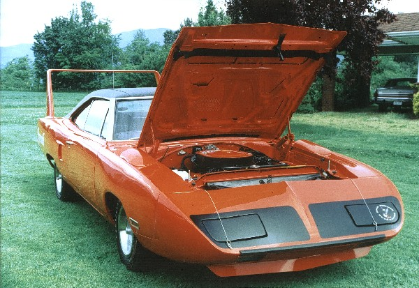 1970 PLYMOUTH SUPERBIRD COUPE - Side Profile - 21908