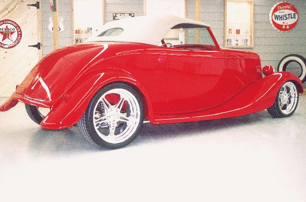 1933 FORD ROADSTER - Rear 3/4 - 21925