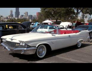 1960 CHRYSLER CROWN IMPERIAL CONVERTIBLE -  - 21933