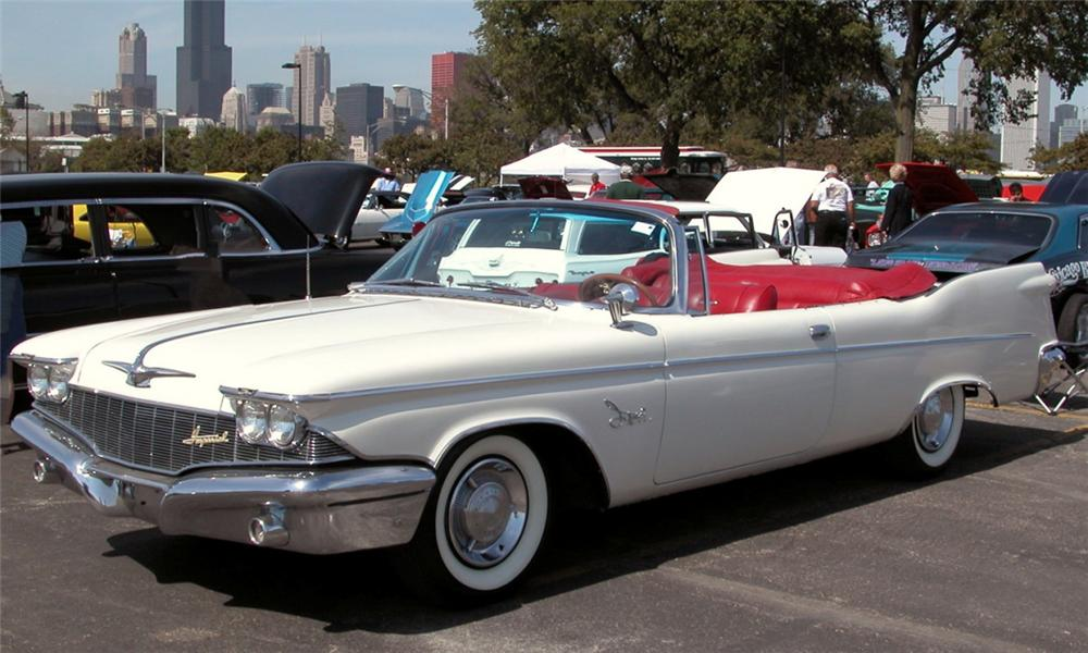 1960 CHRYSLER CROWN IMPERIAL CONVERTIBLE - Front 3/4 - 21933