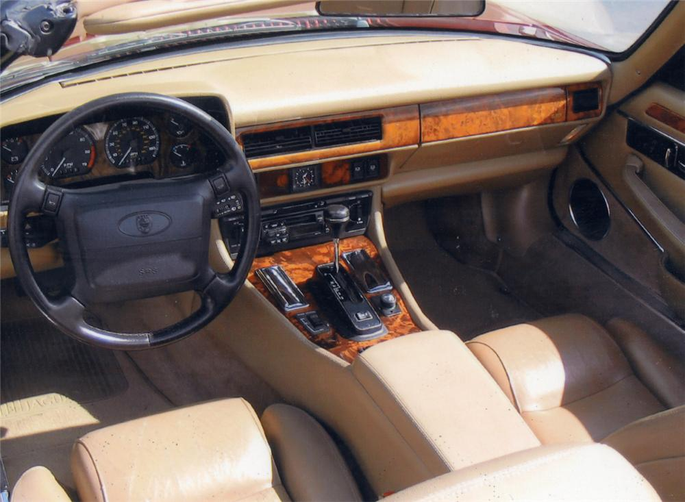 ... 1995 JAGUAR XJS CONVERTIBLE   Interior   21934 ...