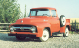 1956 FORD F-100 CUSTOM CAB SHORT BED -  - 21942