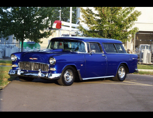 1955 CHEVROLET BEL AIR NOMAD STATION WAGON -  - 21945