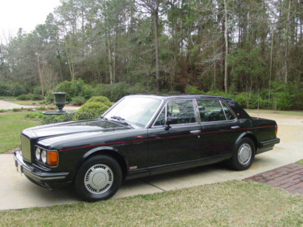 "1991 BENTLEY ZER-GREEN ""R"" 4 DOOR SEDAN - Front 3/4 - 21949"