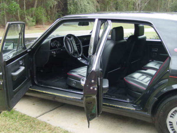 "1991 BENTLEY ZER-GREEN ""R"" 4 DOOR SEDAN - Interior - 21949"