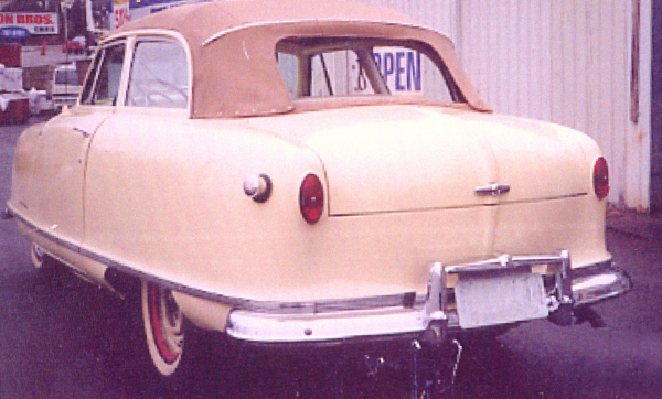 1950 NASH RAMBLER CONVERTIBLE - Rear 3/4 - 21953