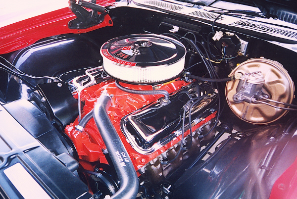 1970 CHEVROLET CHEVELLE SS 2 DOOR HARDTOP - Engine - 21956
