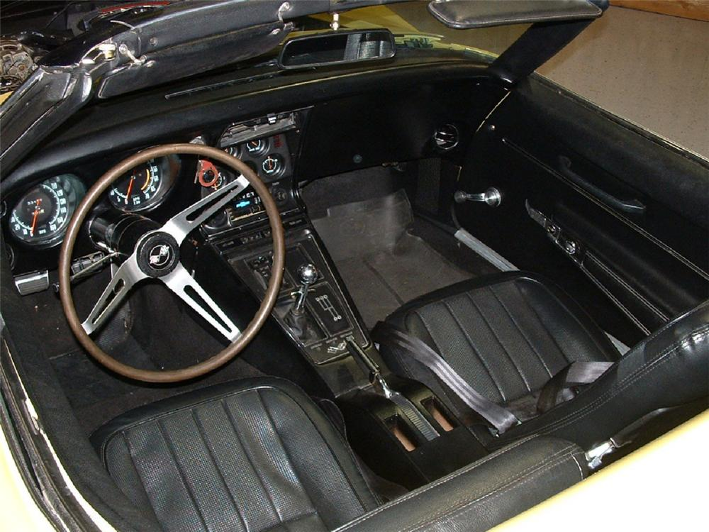 1968 CHEVROLET CORVETTE CONVERTIBLE - Interior - 21960