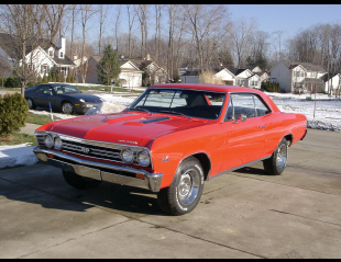1967 CHEVROLET CHEVELLE SS COUPE -  - 21961