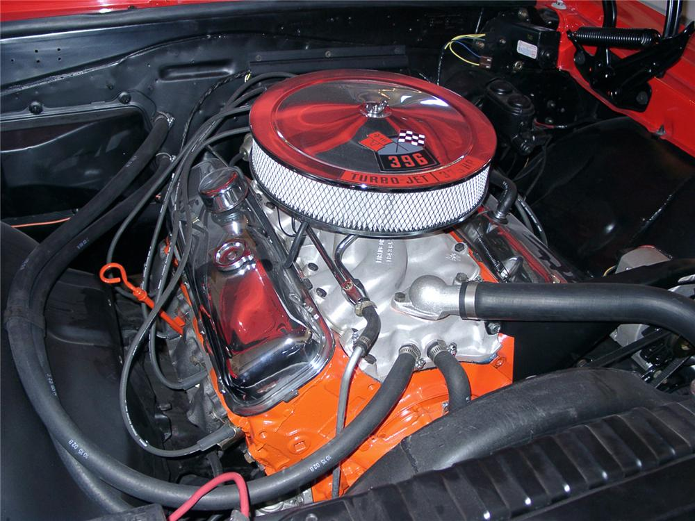 1967 CHEVROLET CHEVELLE SS COUPE - Engine - 21961