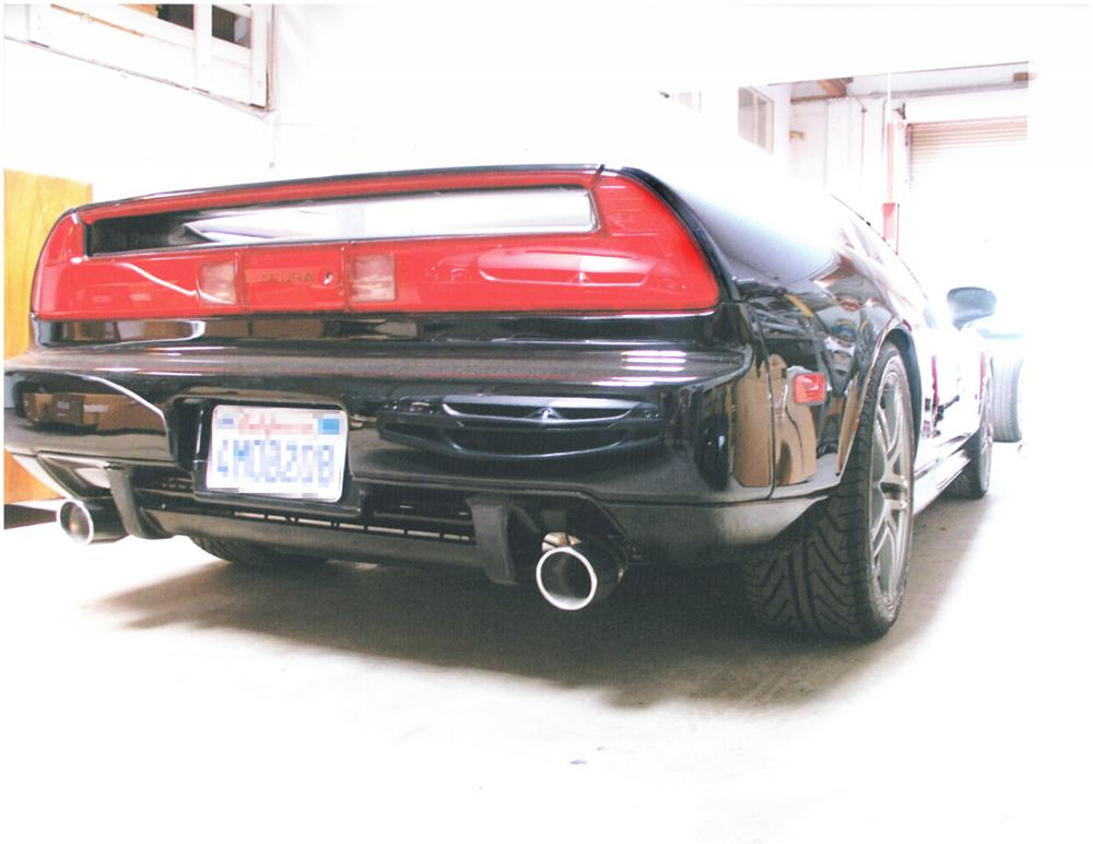 2000 ACURA NSX-T TARGA COUPE - Rear 3/4 - 21967