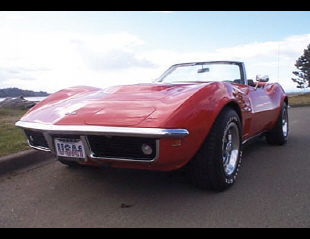 1969 CHEVROLET CORVETTE 427 STINGRAY CONVERTIBLE -  - 21970