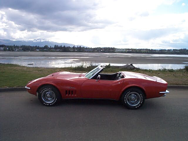 1969 CHEVROLET CORVETTE 427 STINGRAY CONVERTIBLE - Side Profile - 21970