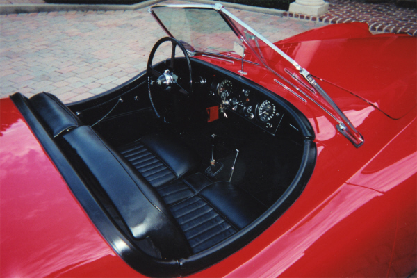 1954 JAGUAR XK 120 SE CONVERTIBLE - Interior - 21977