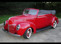 1939 FORD DELUXE CONVERTIBLE SEDAN STREET ROD -  - 21980