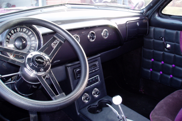 1951 FORD BUSINESS CUSTOM COUPE - Interior - 21982