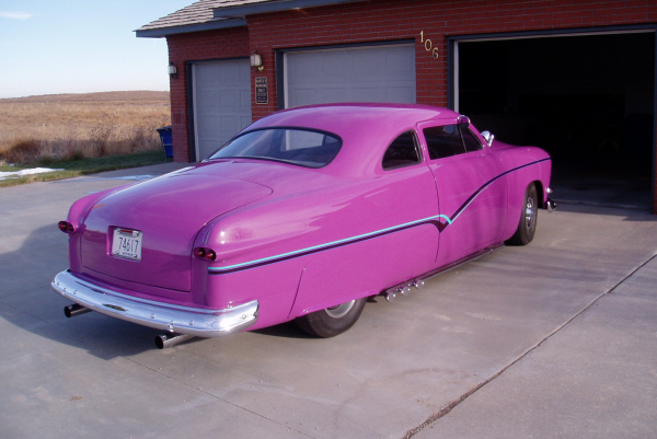 1951 FORD BUSINESS CUSTOM COUPE - Rear 3/4 - 21982