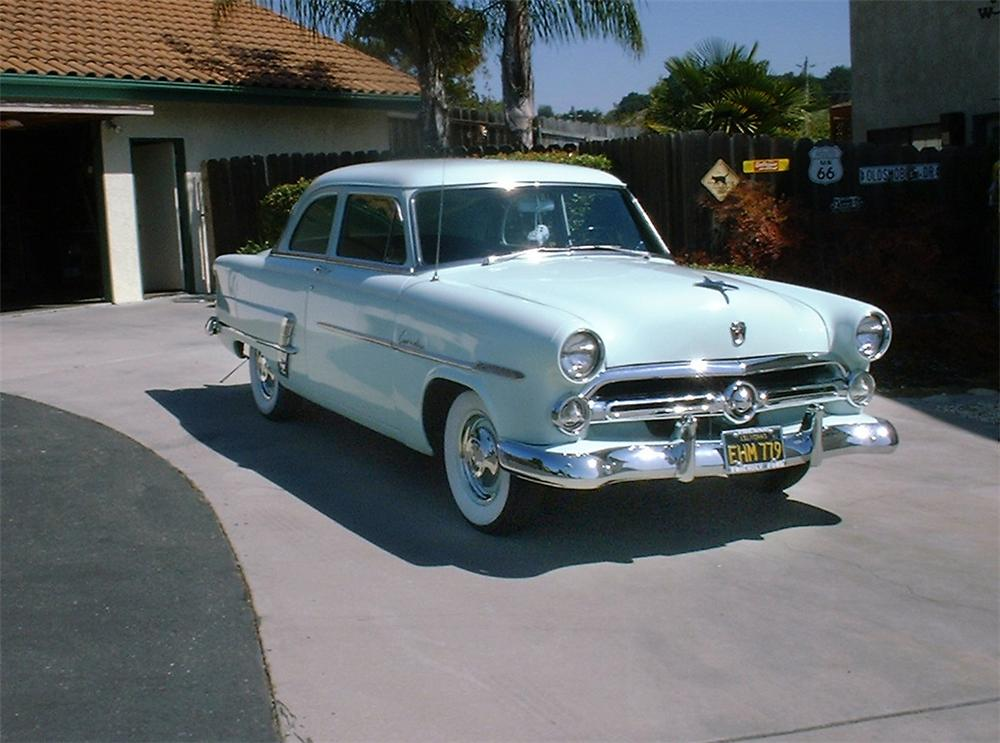 1953 ford custom line 2 door sedan 21996