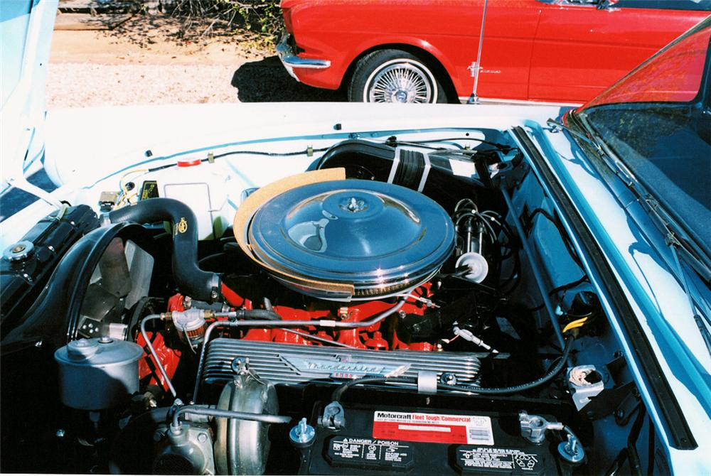 1957 FORD THUNDERBIRD CONVERTIBLE - Engine - 21997