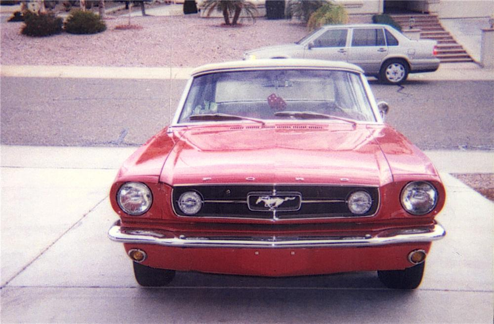 """1965 FORD MUSTANG GT """"K"""" CONVERTIBLE - Side Profile - 22007"""