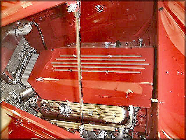 1933 FORD 2 DOOR ROADSTER - Engine - 22008