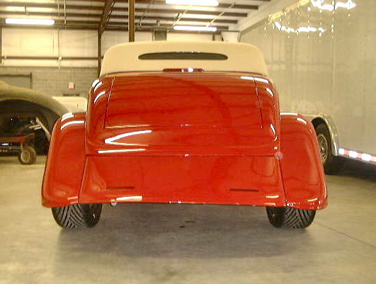 1933 FORD 2 DOOR ROADSTER - Rear 3/4 - 22008